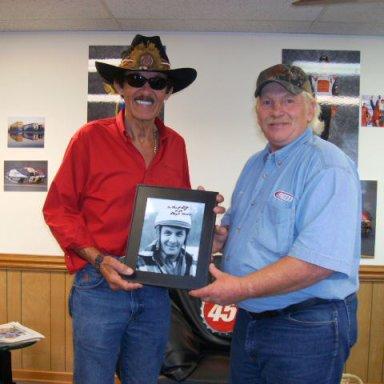 Richard,Oldschool59 presenting Lloyd Moore Photo