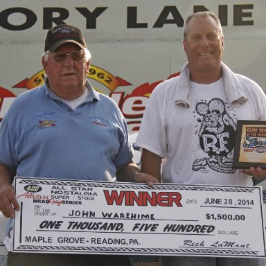 Maple Grove 6-28-14 Winners Circle