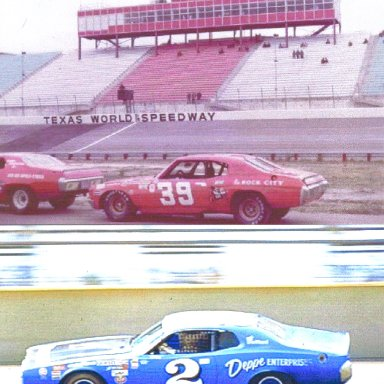#39 Friday Hassler & #2 Dave Marcis