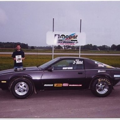 2000 IHRA World Nationals Class Winner