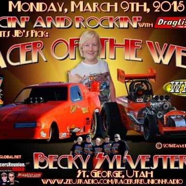 Becky Sylvester, Mar 09, 2015