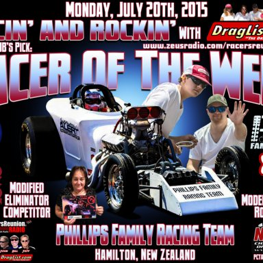 Phillips Family Racing, July 20, 2015