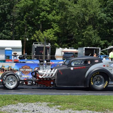 Topo at the Nostalgia Nationals
