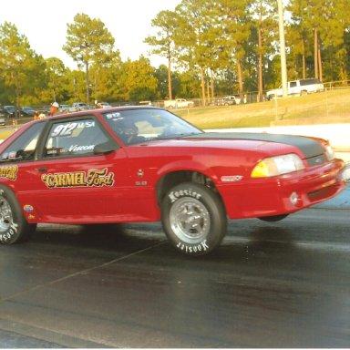 Vindicator- Son Greg's Current IHRA, NHRA Stock Eliminator Car