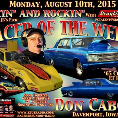 Don Cabor - Aug 10, 2015