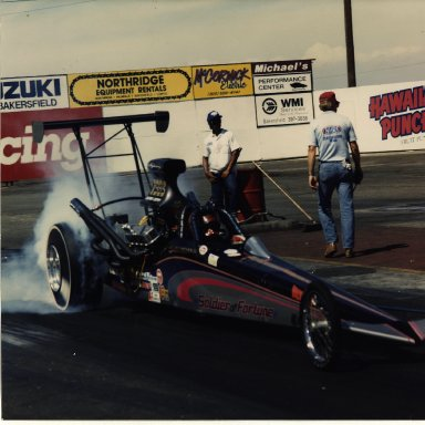 SOLDIER OF FORTUNE DRAGSTER