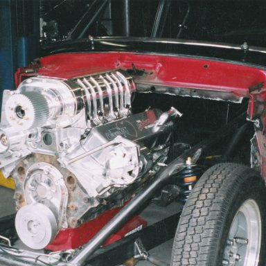 MOCK UP OF MOTOR PLACEMENT