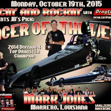 Mark Jones - Oct 19, 2015