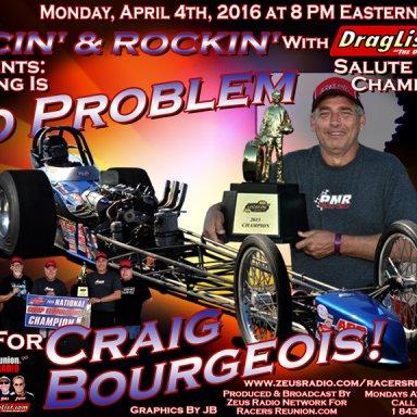Craig Bourgeois - April 4, 2016