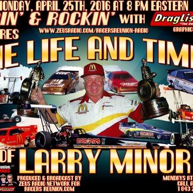 Larry Minor - April 25, 2016