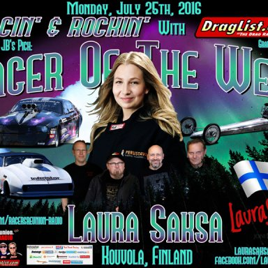 Laura Saksa - July 25, 2016