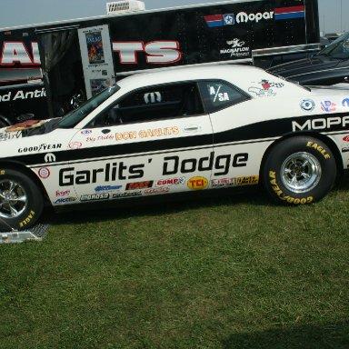 Don Garlits' A/SA Dodge 2009 Indy Nationals