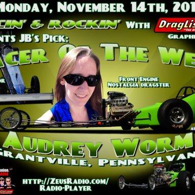 Audrey Worm - Nov 14, 2016