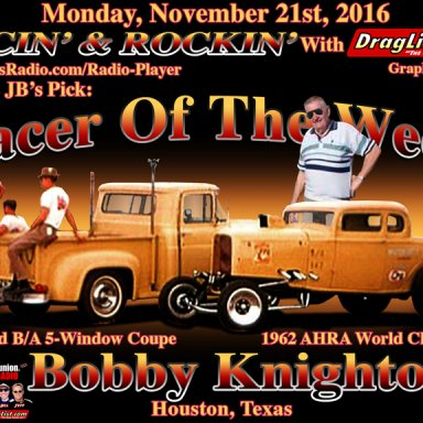 Bobby Knighton - Nov 21, 2016