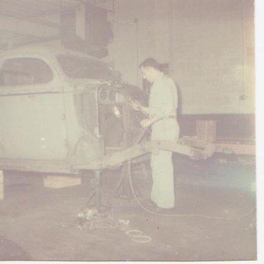 Butch welding 38 Dodge