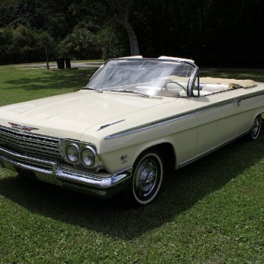 Dale Armstrong's 1962 Chevrolet Impala SS Convertible