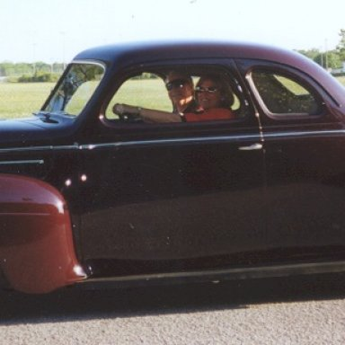 First Car - 1940 Plymouth Coupe