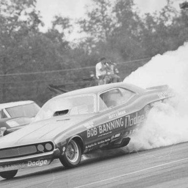 Banning Dodge Burn Out at Ct sm