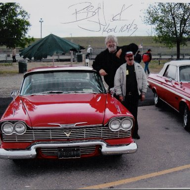 58 Plymouth With Big Jack Armstrong.