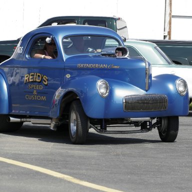 Reids speed and Custom Classic Willys Coupe