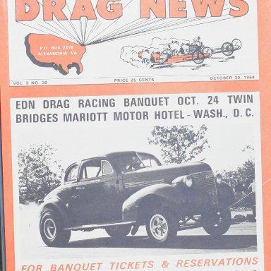 Eastern Drag News Oct, 30 1964