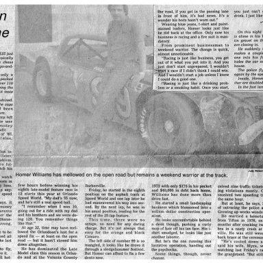Orlando Sentinel Newspaper 6/11/80