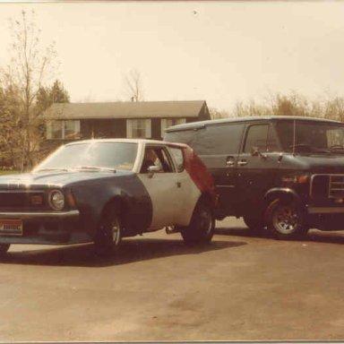 '71 Gremlin & '78 Chevy Van