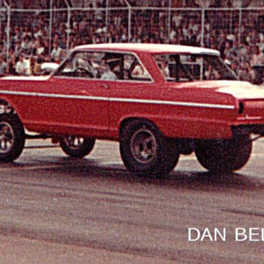 GREEN VALLEY MIKE BURKHEART CHEVY II FUNNY