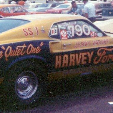 69NHRA SPRING NATS SS CARS HARVEY McCELLEN RANKS