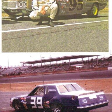 #95 Darrell Waltrip & #39 Blackie Wangerin