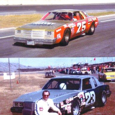 #25 Ronnie Thomas & #23 Geoff Bodine
