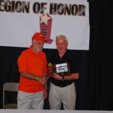 Ed Miller Legion of Honor Award '08
