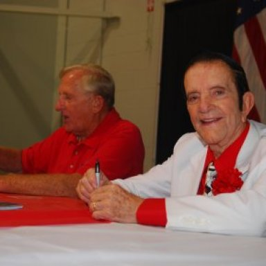 Bud Faubel and Bob Harrop at York Reunion '08