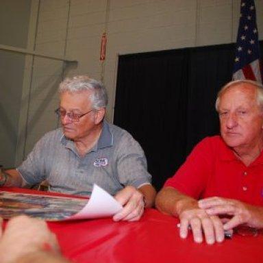 Jere Stahl and Bob Harrop at York Reunion '08