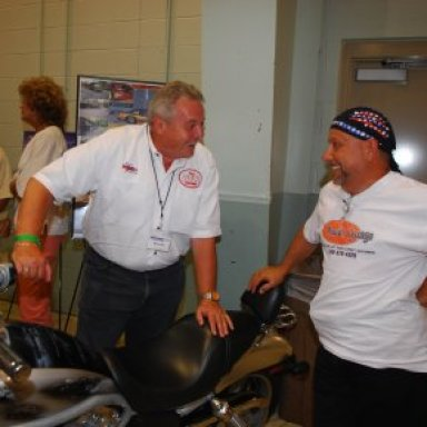 Wally Bell and Marco DeCarsis at York Reunion '08