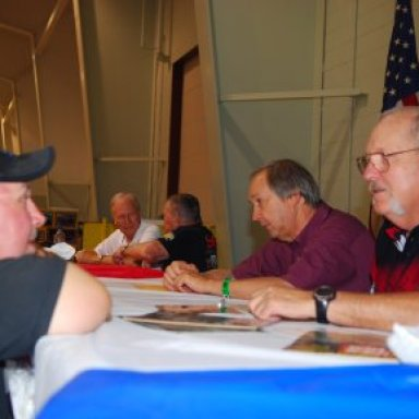 Gordy Foust and Wally Booth at York Reunion '08