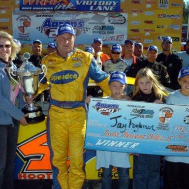 Jay Fogleman Wins at SNRP