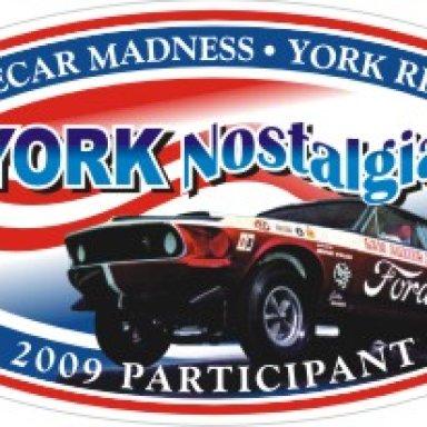 York '09 Participant Decal