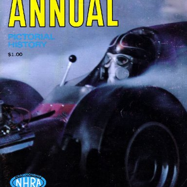 1969 INDY PROGRAM COVER