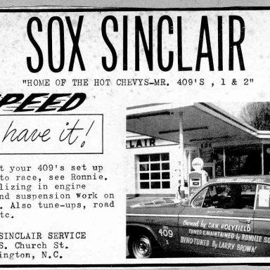 Sox 1962-Thunder in Carolina BA-2
