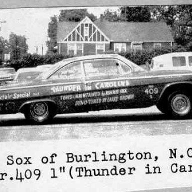 Sox 1962-Thunder in Carolina BA-1
