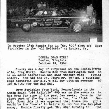 Sox 1962-Thunder in Carolina
