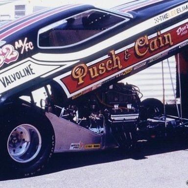 Pusch & Cain Denver 1973 -Hutch Photo