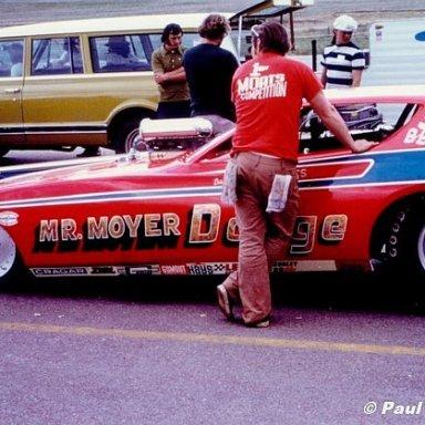Vern Moats Denver 1973 -Hutch Photo
