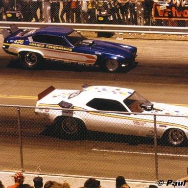 Charlie Therwanger & Raymond Beadle Denver 1973 -Hutch Photo