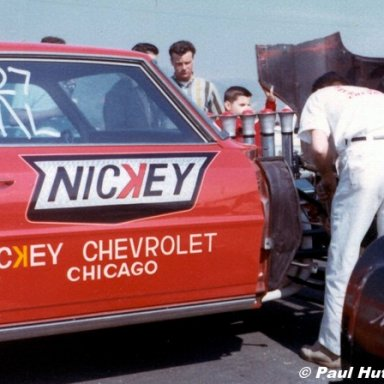 Dick Harrell Irwindale 1966 AHRA Winter Nationals  Hutch Photo