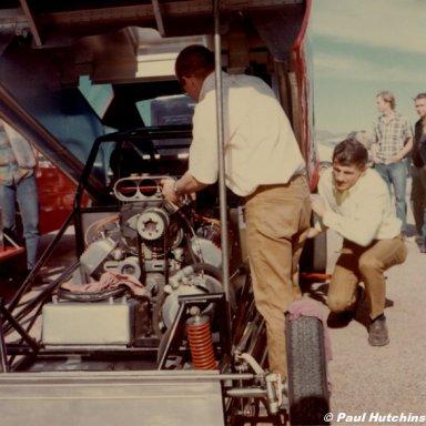Dick Loehr Beeline 1967 -Hutch Photo