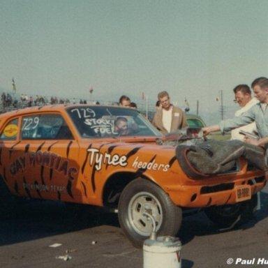 Arnie Beswick Irwindale 1966 - HutchPhoto
