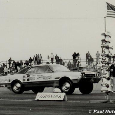 "Joe Schubeck ""Hurst Hairy Olds"" Bakersfield 1966 - Hutch Photo"
