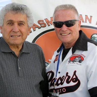 Spider Razon & George Snizek at 2009 March Meet